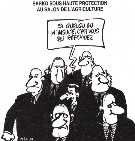 Carla nicolas zanybao for Sarkozy salon agriculture