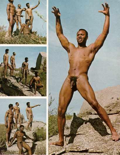 Male america Nude black