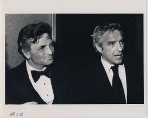 Peter Falk and John Cassavetes