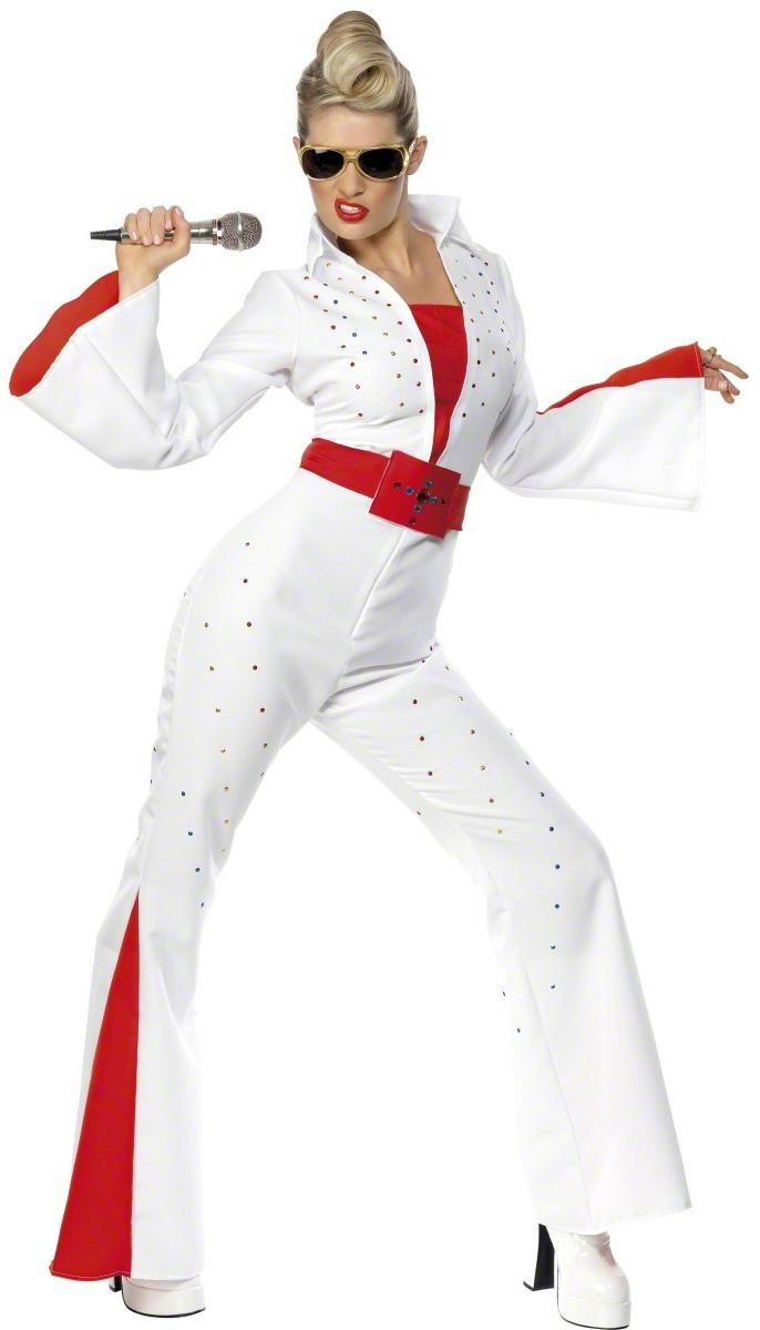 Deguisement Elvis Presley Pour Femme Zanybao