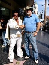 Elvis & Varley on Sunset Blvd, 9-10-05