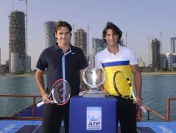 Rafael Nadal et Roger Federer - Ouverture ATP 2009 Quatar